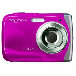 Easypix AquaPix W1024-P Waterproof Camera - Pink (10 MP) 2.4-Inch TFT LCD