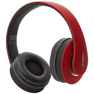 Temco tem53-rj-Wireless Headset, Red