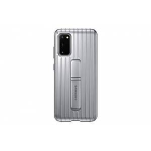 SAMSUNG Original Galaxy S20 S20 5G Protective Standing Cover/Mobile Phone Case - Silver - 6.2 inches