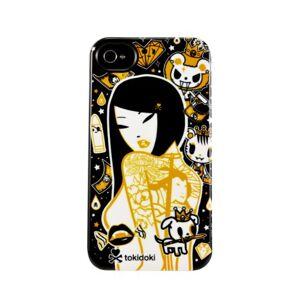 Tokidoki Deflector Case for iPhone 4/4S - Black/Orange