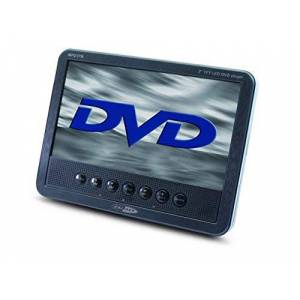 Caliber MPD178 7-Inch Portable DVD Player with Build-In Speakers and Headrest Strap