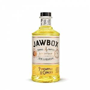 Jawbox Pineapple and Ginger Gin Liqueur, 70 cl