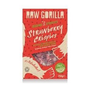 Raw Gorilla Raw Gorilla Organic and Raw Rawberry Crispies 250 g