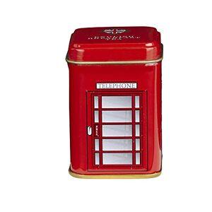 New English Teas Telephone Box Loose Tea Mini Tin 25 g (Pack of 6)