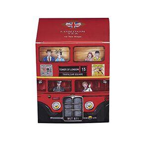 New English Teas Heritage Range London Bus Teabags Carton (Pack of 6, Total 60 Teabags)