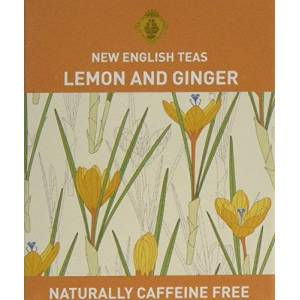New English Teas English Garden Lemon and Ginger Tea 10 Teabags (Pack of 6, Total 60 Teabags)
