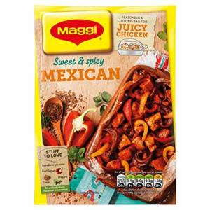 MAGGI So Juicy Mexican Chicken, 40 g (Pack of 16)