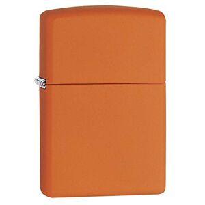 Ssi Zippo 231 New Windproof Lighter - Orange Matte