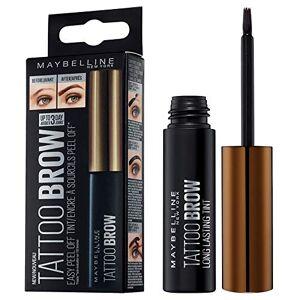 Maybelline Tattoo Brow Longlasting Peel Off Semi Permanent Eyebrow Gel Tint Up To 3 Day Wear Medium Brown