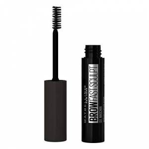 Maybelline New York Fast Sculpt Eyebrow Gel, Shapes and Colours Eyebrows, All Day Hold Mascara, 06 Deep Brown, 0.023 kg