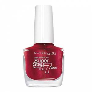 Maybelline New York Superstay 7 Days Nail Polish Volcanic Red 09