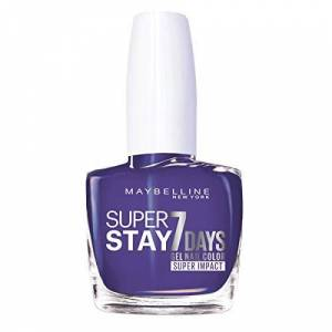 Maybelline Superstay 7 Days Super Impact Nail Color 887 All Day Plum 49g