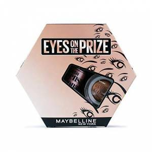Maybelline Makeup Gift Set, Eyes on the Prize: Nude Eyeshadow & Lash Sensational Mascara Gift Set For Her