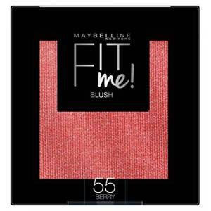 Maybelline New York Fit Me! Blush 55 Berry Pack of 3 x 4.5 g