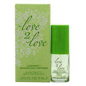 Love 2 Love Jasmine Plus Sparkling Mimosa Eau de Toilette 11ml Spray for Her