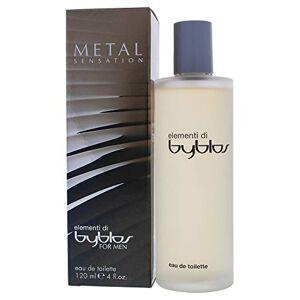 Byblos Elementi Di Metal Sensation by Byblos for Men - 4 oz EDT Spray, 8007033788235