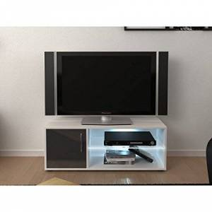 Gnrique firini Grey TV Cabinet with LED LightsL 100x W 36X H 38
