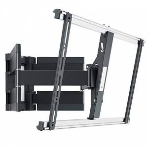 Vogel's THIN 550 ultra strong full-motion TV wall bracket for large (40-100 inch) or heavy (max. 154lbs/70 kg) TVs Swivels up to 120 Tiltable, max. VESA 600x400 ultra slim TV wall mount Black