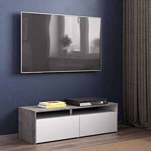 Tema Home TemaHome San Francisco Mobile Tv, Oak/White, 119.4 x 40 x 37 cm