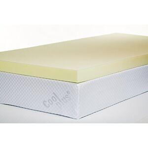 Southern Foam Memory Foam Mattress Topper, 3 Inch, UK Super King