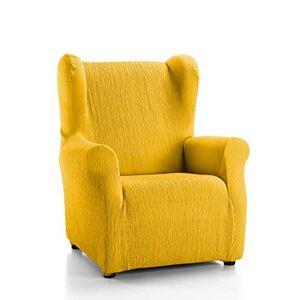 Martina Home Emilia Case Armchair orejero, Fabric, Gold, 33x 8x 42cm