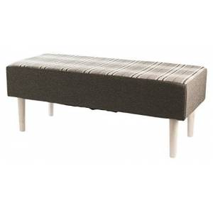 Galileo Casa 2410643Bench, Wood, Grey, 40x 100x 40cm