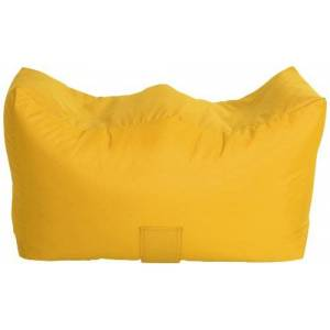 Bonkers Polyester Jazz Range Bench Bean Bag Water Resistant with Beans Filling, 90 x 50 x 47 cm, 1-Piece, Yellow