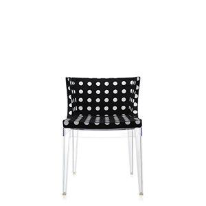 Kartell Mademoiselle 5PN, Black, 55 x 52.5 x 74 cm