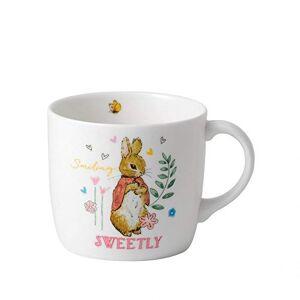 40034097 Wedgwood Peter Rabbit Single Handed Mug Fine Bone China Pink