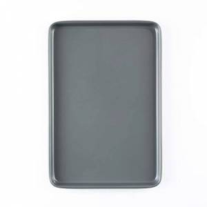 Prochef Large Baking/Oven Tray, Premium Quality, Easy to Clean, Teflon Innovations Non-Stick Silicone Coating,Grey