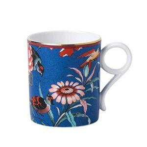 Wedgwood 40032113 Paeonia Blush 0.2ltr, Fine Bone China, Mug Blue Small