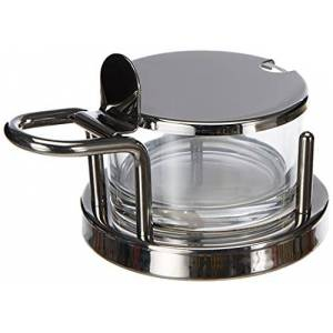 Alessi 5071 - Design Cheese Cellar, Glass and Stainless Steel