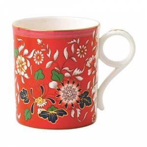 Wedgwood 40023850 Wonderlust Crimson Jewel Small Boxed, Fine Bone China, S/S Mug