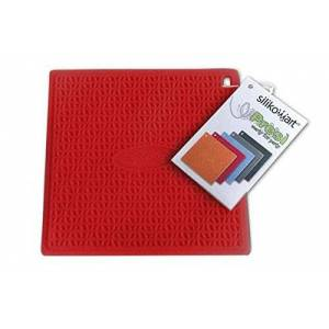 silikomart Textured Silicone Pot Holder Pres, Red