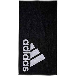 adidas Unisex Adult S Towel - Black/White, 50 x 100 cm