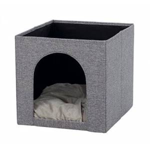 Trixie Ella 44087 Cuddly Cave for Shelf, 33 33 37 cm, Grey