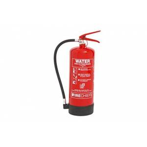 Firechief FXW6 Water Extinguisher, XTR, 6 L, Red