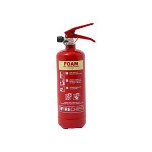 Firechief FXF2 XTR Foam Extinguisher, 2 L, Red