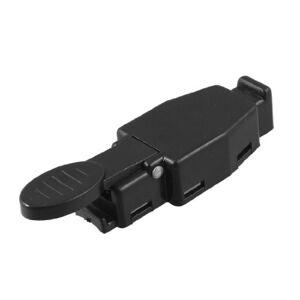 Sourcingmap Black Plastic Spare Part for TIG Welding Gun Switch