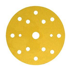 3M Hookit Paper Disc 255P, 150 mm, 15 Hole LD961A, P150 - 100 Discs/Box