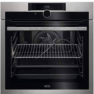 AEG bpe842720m Electric Oven 71L A + Stainless Steel Oven(Medium, Electric Oven, 71L, 71L, 30300C, 2300W)
