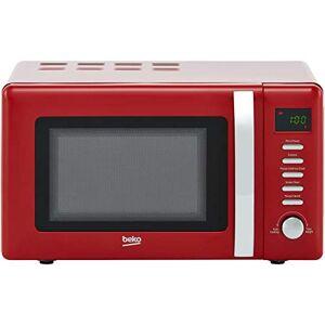 Beko MOC20200R Solo Retro Microwave 20L 800W - Red