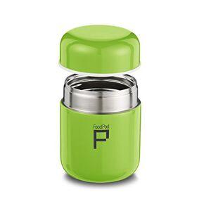 Pioneer Stainless Steel Vacuum Insulated Leak-Proof Foodpod Capsule Flask 6 Hours Hot 24 Hours Cold, Green, 280 ml