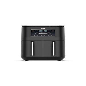Ninja Foodi Air Fryer [AF300UK], Dual Zone, 7.6 Litre, Black