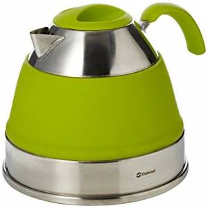 Outwell Collaps Kettle, Lime Green, 2.5 Litre
