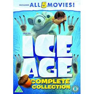 2724564407966 Ice Age 1-5 plus a Mammoth Christmas Box Set [DVD] [2002]