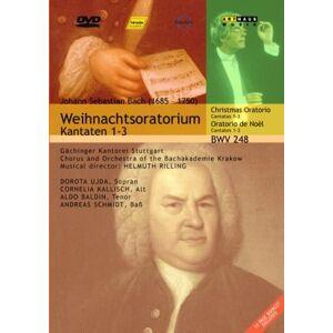 Bach: Weihnachtsoratorium - Christmas Oratorio BWV 248 Cantatas 1 To 3 [1996] [DVD] [2005] [2007]