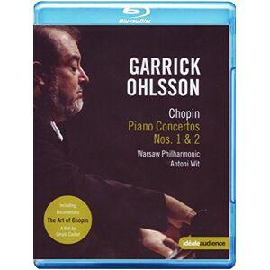 Chopin: Concertos (Ohlsson) (Chopin Piano Concertos Nos. 1&2) [Blu-ray] [2011] [Region Free]