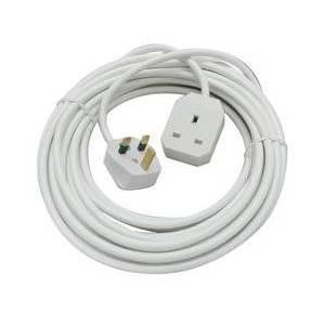 LINDY UK 3 Pin Mains Extension Lead, 10m