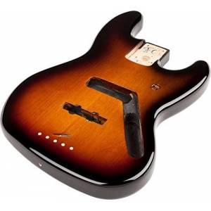 Fender Standard Series Jazz Bass Alder Body - Brown Sunburst